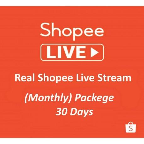 Shopee Live Video Views Monat