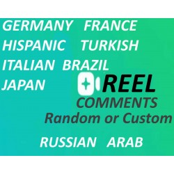 Buy custom target Instagram Reel Comments