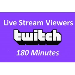 Buy Twitch Live Viewers