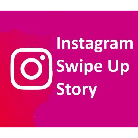 Buy Instagram Story Swipe Ups