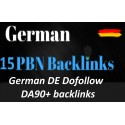 Buy German DE Dofollow DA90 backlinks, deutsche SEO german niche