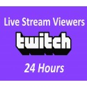Buy Twitch Live Viewers 24 Hours