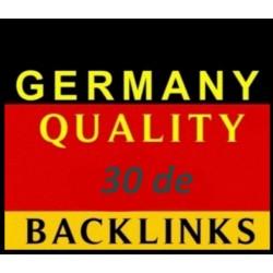 30 Deutscher Backlink Kaufen