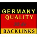 Buy German DE 30 Dofollow backlink