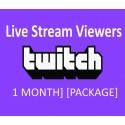 Twitch 30 Tage Live stream