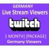 Deutsche Twitch 30 Tage Live stream