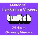 Deutsche Twitch Live zuschauer für 1 Tag