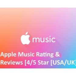 Apple iTunes Music Bewertung
