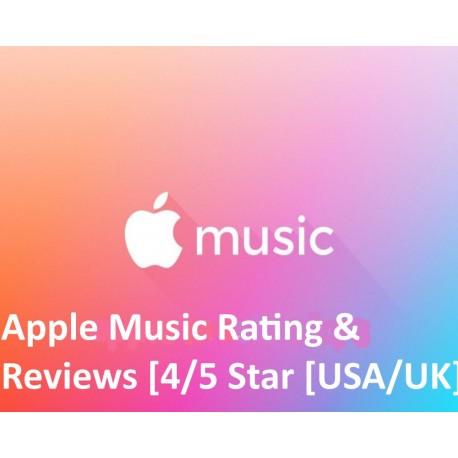 Apple Music Rating & Reviews