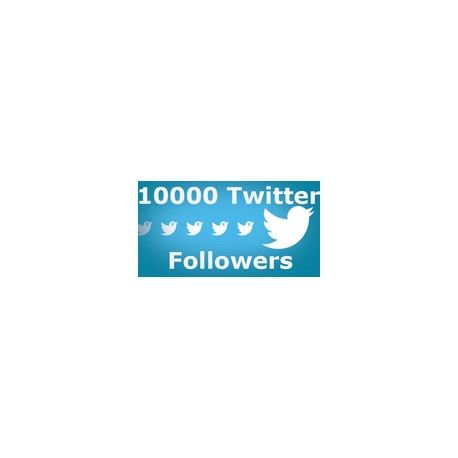 10.000 TWITTER Followers
