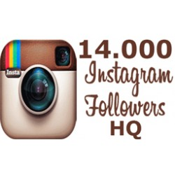 14.000 HQ Instagram Followers