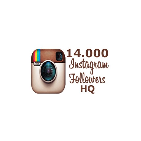 14000 HQ Instagram Followers